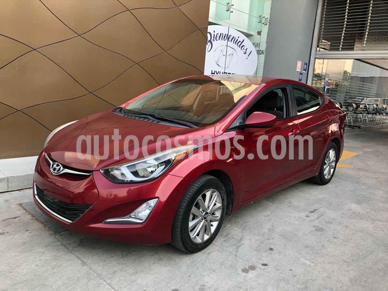 Hyundai Elantra GLS Premium Aut usado (2016) color Rojo precio $195,000