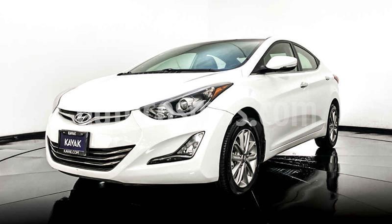 Hyundai Elantra Limited Tech Navi Aut usado (2015) color Blanco precio $184,999