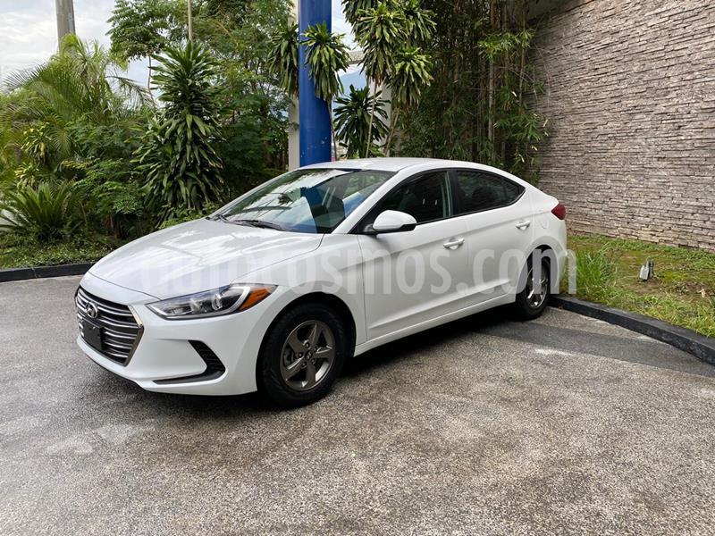 Hyundai Elantra GLS usado (2018) color Blanco precio $239,000