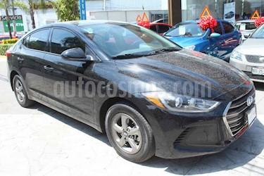 Hyundai Elantra 4p GLS L4/2.0 Aut usado (2017) color Negro precio $199,000