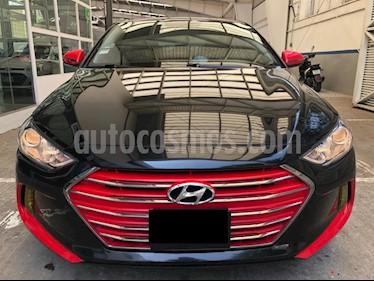 Hyundai Elantra GLS Aut usado (2017) color Negro precio $199,000