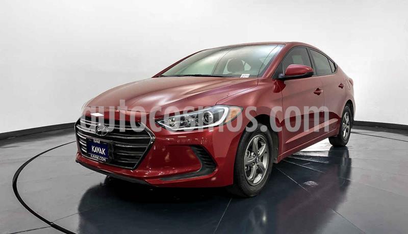 Hyundai Elantra GLS usado (2018) color Rojo precio $232,999