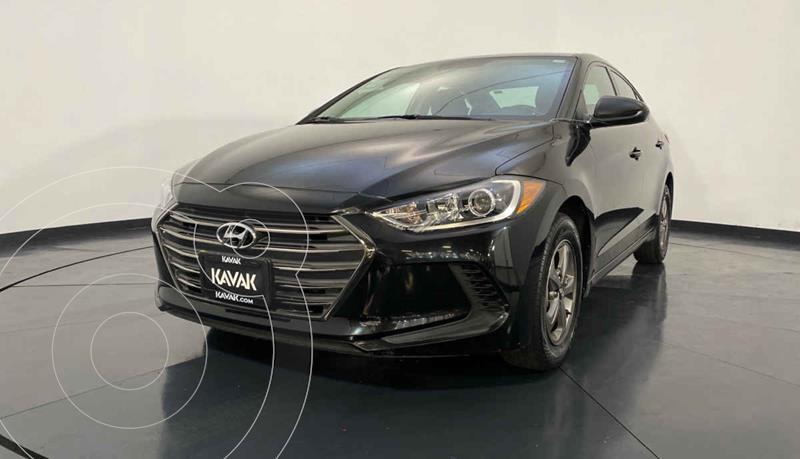 Hyundai Elantra GLS Aut usado (2017) color Negro precio $209,999