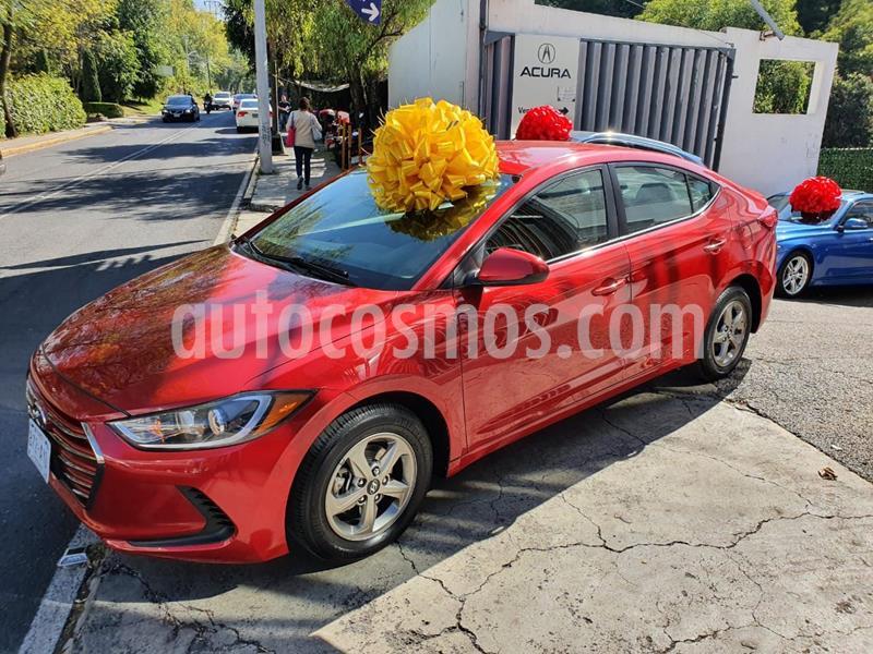 Hyundai Elantra GLS usado (2018) color Rojo precio $210,000
