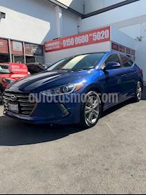 Hyundai Elantra GLS Premium Aut usado (2017) color Azul precio $220,000