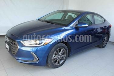 Hyundai Elantra 4p GLS L4/2.0 Aut usado (2017) color Azul precio $209,000