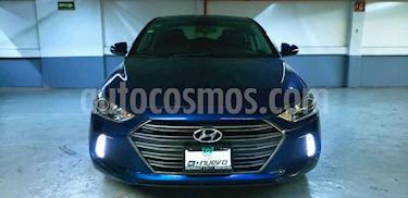 Hyundai Elantra 4p GLS Premium L4/2.0 Aut usado (2018) color Azul precio $245,000