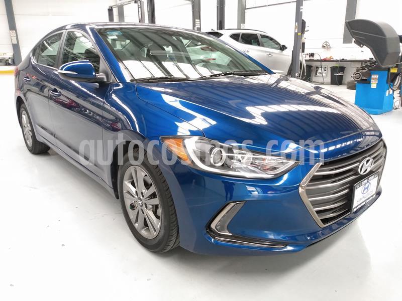 Hyundai Elantra GLS Premium usado (2018) color Azul precio $244,000