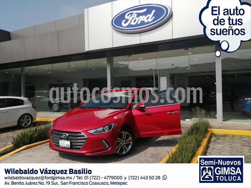 Hyundai Elantra Limited Tech Navi Aut usado (2018) color Rojo precio $258,000