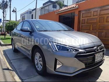 Hyundai Elantra  GLS 1.6L usado (2019) color Gris precio $8,400