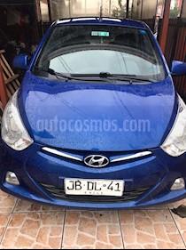 Hyundai Eon GL usado (2017) color Azul precio $3.350.000
