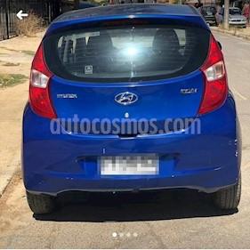 Hyundai Eon GL usado (2013) color Azul Electrico precio $3.200.000