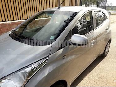 Hyundai Eon GL usado (2016) color Plata precio $3.600.000