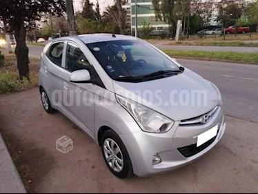 Hyundai Eon GLS usado (2013) color Plata precio $3.900.000