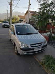 Hyundai GETZ 3P 1.4L usado (2007) color Plata precio $2.650.000