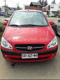 Foto Hyundai GETZ 5P 1.6L usado (2009) color Rojo precio $3.000.000