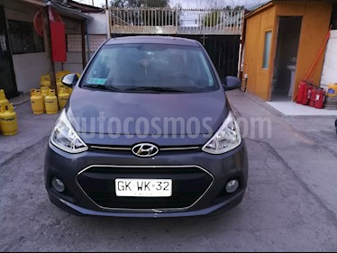Hyundai Grand i10 Sedan 1.2L GLS Full usado (2017) color Gris precio $5.500.000