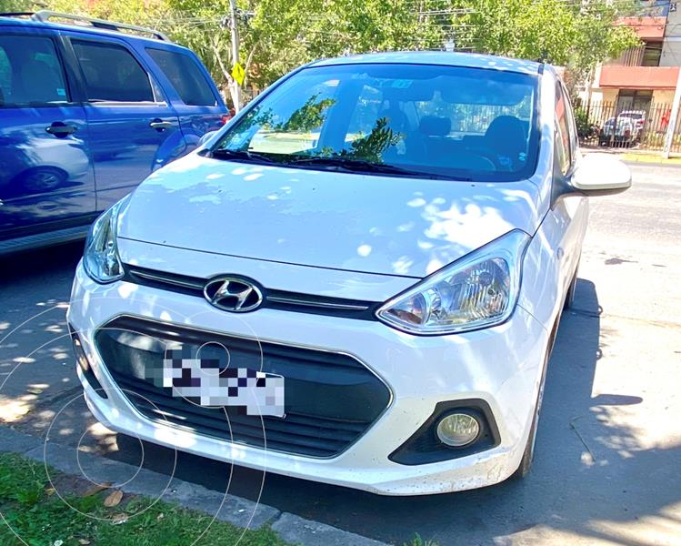 Hyundai Grand i10 Sedan 1.2L GL Ac usado (2017) color Blanco precio $6.300.000