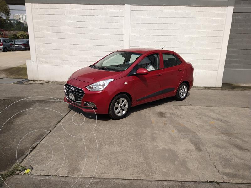 Foto Hyundai Grand i10 Sedan GLS Aut usado (2020) color Rojo precio $225,000