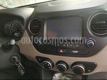 Hyundai Grand i10 1.0 GL Base  usado (2017) color Gris precio $5.900.000