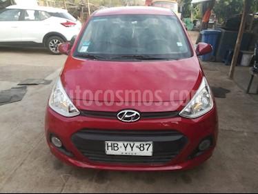 Hyundai Grand i10 1.2 GLS  usado (2015) color Rojo precio $4.700.000