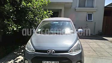 Hyundai Grand i10 1.2L GLS Pack Electrico usado (2014) color Celeste precio $4.500.000
