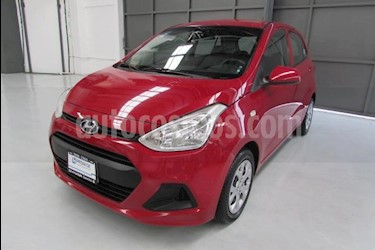 Foto venta Auto usado Hyundai Grand i10 4p GL L4/1.2 Man (2016) color Rojo precio $149,900