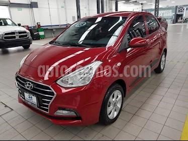 Foto venta Auto usado Hyundai Grand i10 4p GLS L4/1.2 Aut (2018) color Rojo precio $199,000