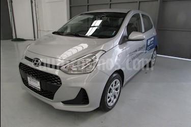 Foto venta Auto usado Hyundai Grand i10 5p GL L4/1.2 Man (2019) color Plata precio $193,300