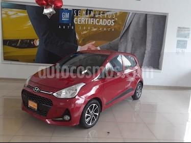 Hyundai Grand i10 5p GLS L4/1.2 Aut usado (2018) color Rojo precio $173,900