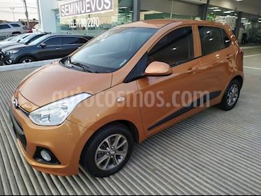 Foto venta Auto usado Hyundai Grand i10 5p GLS L4/1.2 Man (2015) color Naranja precio $129,000