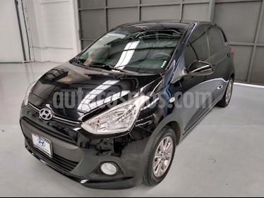 Foto Hyundai Grand i10 5P HB GLS TM5 A/AC. VE F. NIEBLA RA-14 usado (2017) color Negro precio $160,000