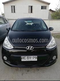 Hyundai Grand i10 1.2 GLS Aut usado (2015) color Negro precio $5.200.000