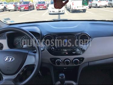 Hyundai Grand i10 1.2 GLS  usado (2016) color Gris precio $5.300.000