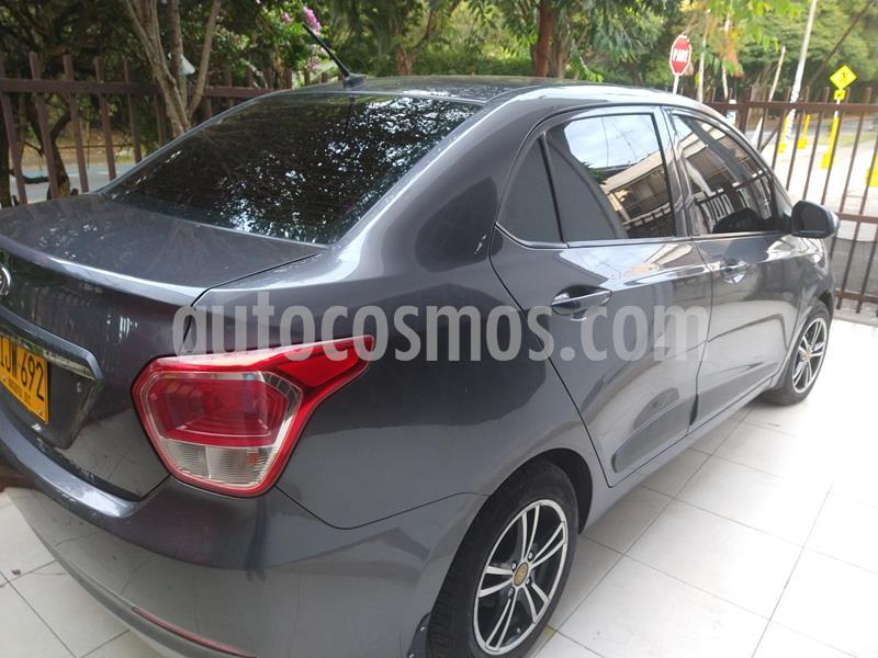 Hyundai Grand i10 Kappa 1.2 Aut usado (2015) color Gris Oscuro precio $28.500.000