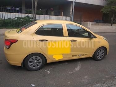Hyundai Grand i10 Kappa 1.0 usado (2016) color Naranja precio $84.000.000
