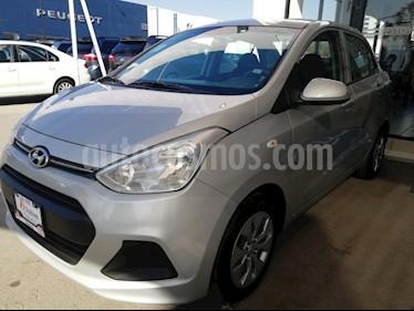 Foto venta Auto usado Hyundai Grand i10 GL Aut (2017) color Plata precio $154,000