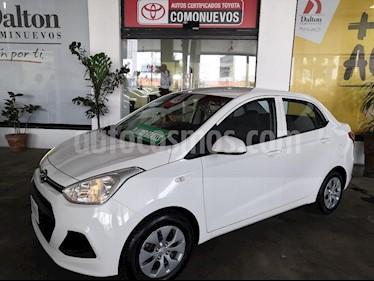 Foto venta Auto usado Hyundai Grand i10 GL MID Aut (2017) color Blanco precio $175,000