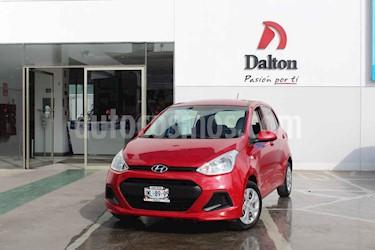 Foto Hyundai Grand i10 GL MID Aut usado (2016) color Rojo precio $144,000