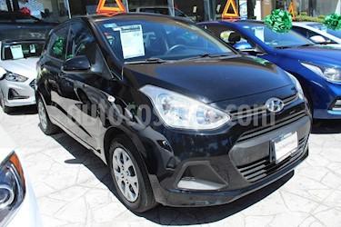 Foto venta Auto usado Hyundai Grand i10 GL MID Aut (2016) color Negro precio $142,000
