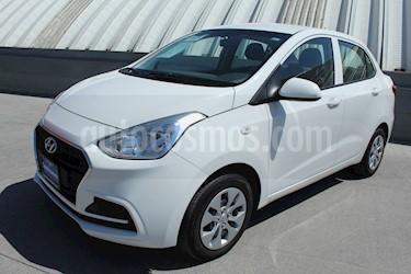 Foto venta Auto usado Hyundai Grand i10 GL MID Aut (2018) color Blanco precio $199,000
