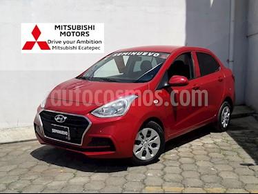 foto Hyundai Grand i10 GL MID Aut usado (2018) color Rojo precio $182,900