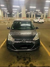 Hyundai Grand i10 GL MID Aut usado (2016) color Gris precio $124,500