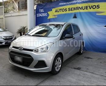 Foto venta Auto Seminuevo Hyundai Grand i10 GL MID (2015) color Plata precio $149,000