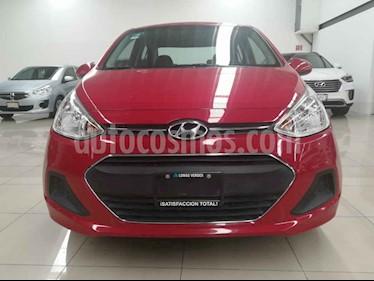 Foto venta Auto usado Hyundai Grand i10 GL MID (2017) color Rojo precio $149,000