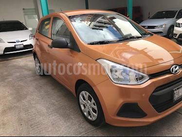 Hyundai Grand i10 GL MID usado (2015) color Naranja precio $108,000
