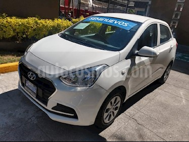Foto venta Auto usado Hyundai Grand i10 GL MID (2018) color Blanco precio $185,000