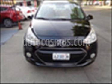 foto Hyundai Grand i10 GL MID usado (2015) color Negro precio $147,000