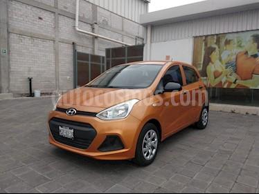 Foto venta Auto usado Hyundai Grand i10 GL MID (2015) color Naranja precio $130,000