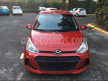 Foto venta Auto usado Hyundai Grand i10 GL MID (2018) color Rojo precio $169,000